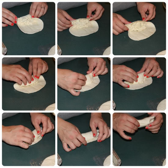 Rolling Step by Step Photo of Chicken Roll Ups