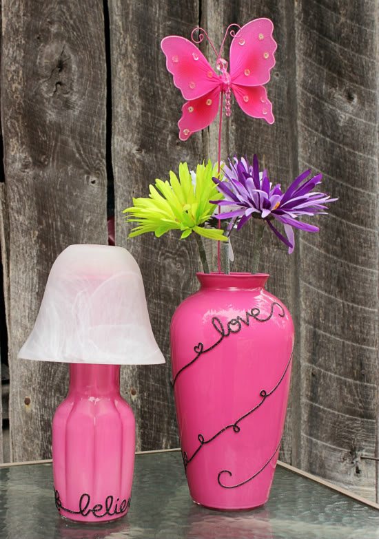 Makeover Flower Vases From BigBearsWife.com