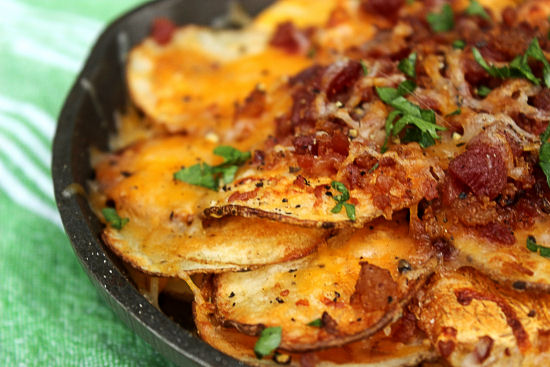 Loaded Potato Skillet