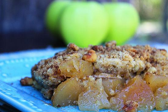 Apple Streusel Cobbler #SundaySupper