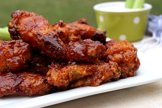 Honey BBQ Wings and Cool Ranch From BigBearsWife.com