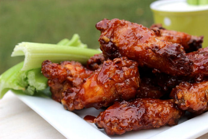 Honey BBQ Wings and Cool Ranch #SundaySupper