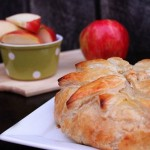 Brown Sugar Apple Brie in Puffed Pastry