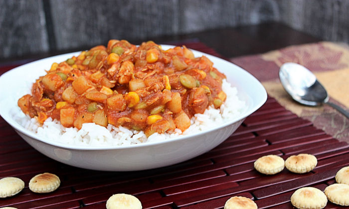 Brunswick Stew and Rice #SundaySupper