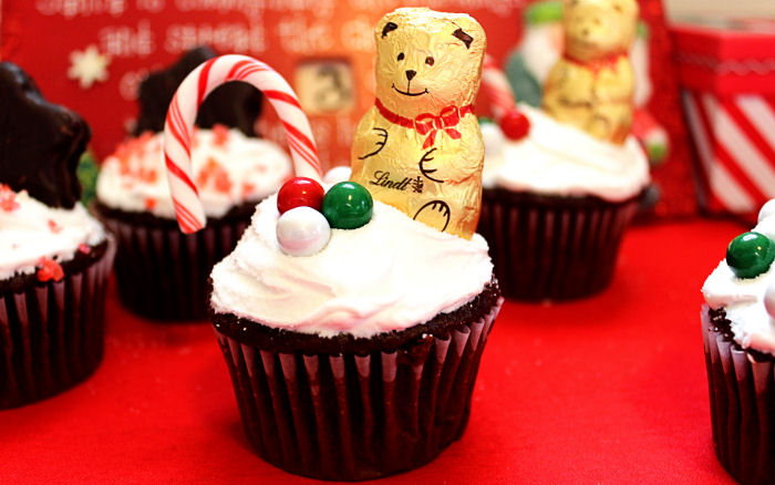Christmas Cupcakes.Hot Chocolate Christmas Cupcakes Big Bear S Wife