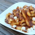 Mozzarella Pearl Poutine (Fries and Gravy)