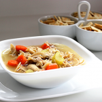 Chicken Noodle Soup #SundaySupper