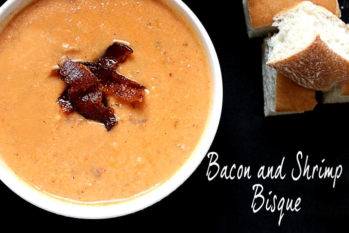 Bacon and Shrimp Bisque #SundaySupper