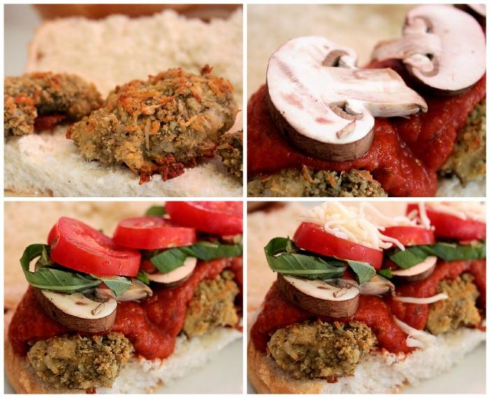 Rosemary and Roasted Garlic Parmesan Chicken Subs #KraftFreshTake BigBearsWife.com