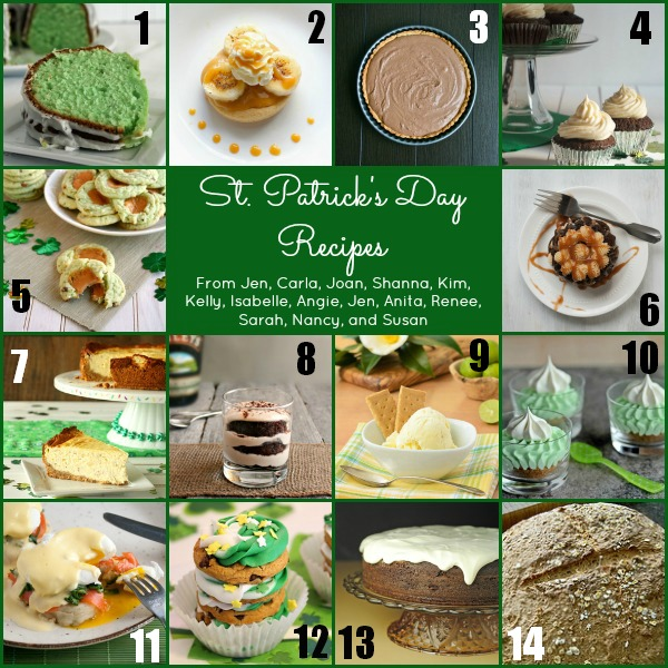 Saint Patrick's Day Cookie Stacks BigBearsWife.com @bigbearswife