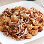 Sun-Dried Tomato Chicken Orecchiette {Pasta}