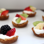 Mini Fruit Tarts #SundaySupper