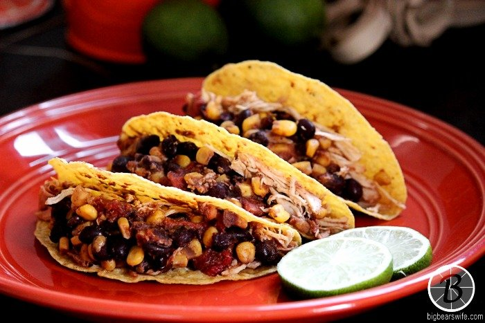 Southwest Chicken Tacos #FreezerMeal