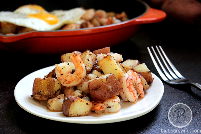 Red Potato and Shrimp Hash Plus a Trip Giveaway!