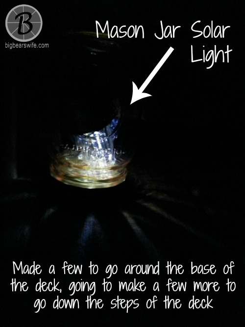Mason Jar Solar Lights - Memorial Day - BigBearsWife.com