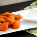 Buffalo Chicken Bites with White BBQ Sauce
