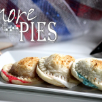 Red, White & Blue S'more Pies