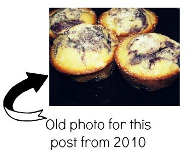 old photo of Sugar Crusted Muffin Recipe