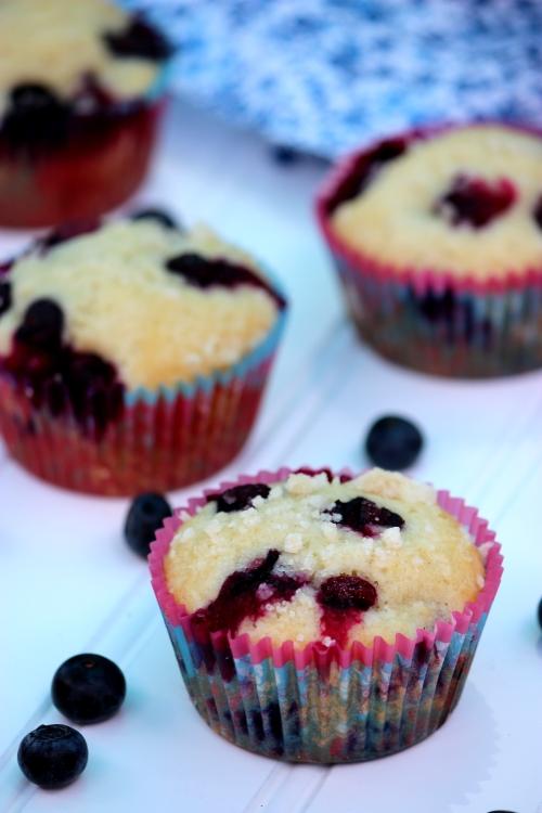 Fresh Blueberry Muffins | BigBearsWife.com