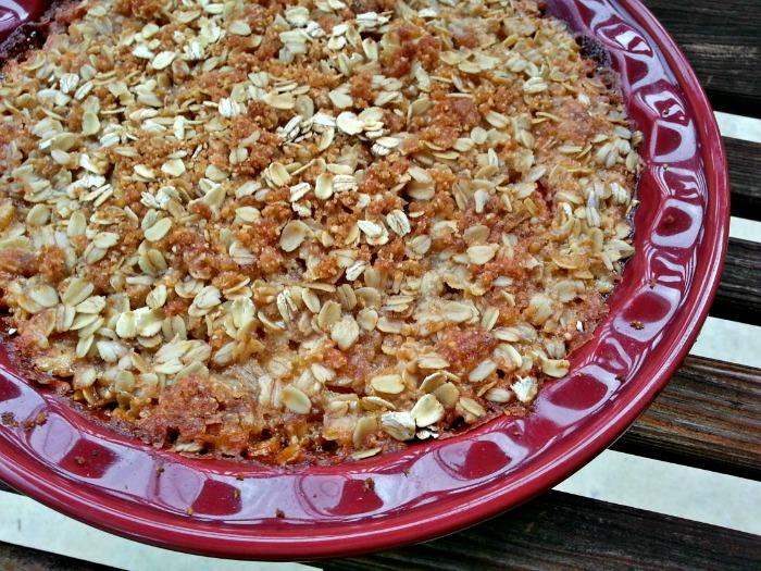 Gluten Free Peach Cobbler | BigBearsWife.com