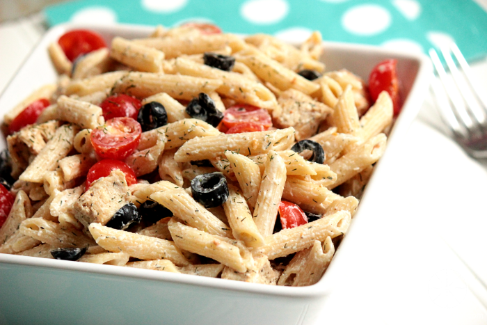 "Greek ""Dill""-light Pasta Salad 