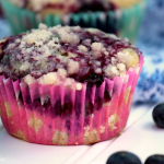 Sugar Crusted Blueberry Muffin Recipe