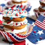 Independence Day Cookie Stacks