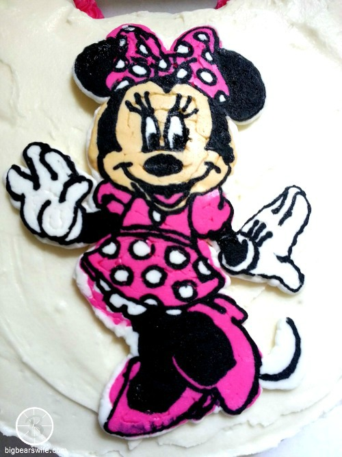 how to make minnie mouse ears from icing