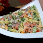 Autumn Ranch Pasta Salad
