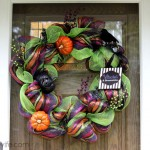Halloween Deco Mesh Wreath Tutorial