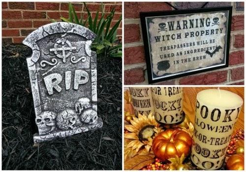 Halloween Decorations | BigBearsWife.com @bigbearswife