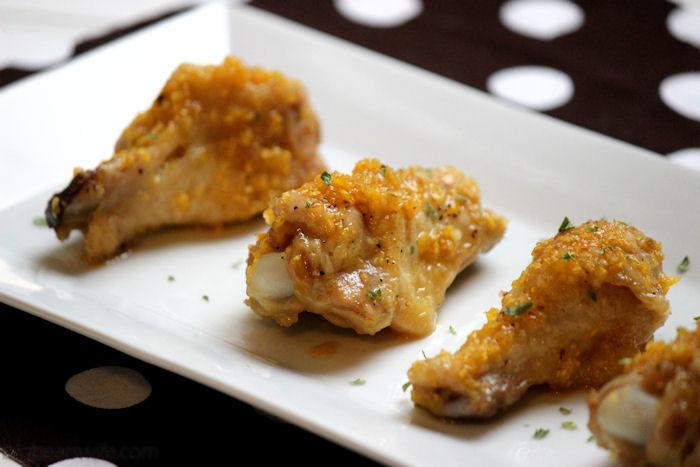 Sweet & Sour Garlic Chicken Wings #SundaySupper | BigBearsWife.com @bigbearswife