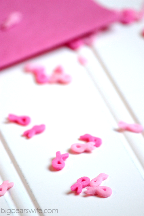 Chocolate Pink Ribbon Swiss Roll Cake | BigBearsWife.com