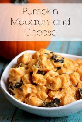 Pumpkin Macaroni and Cheese