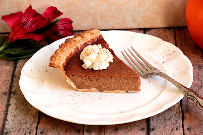 Homemade Pumpkin Pie | BigBearsWife.com @bigbearswife.com