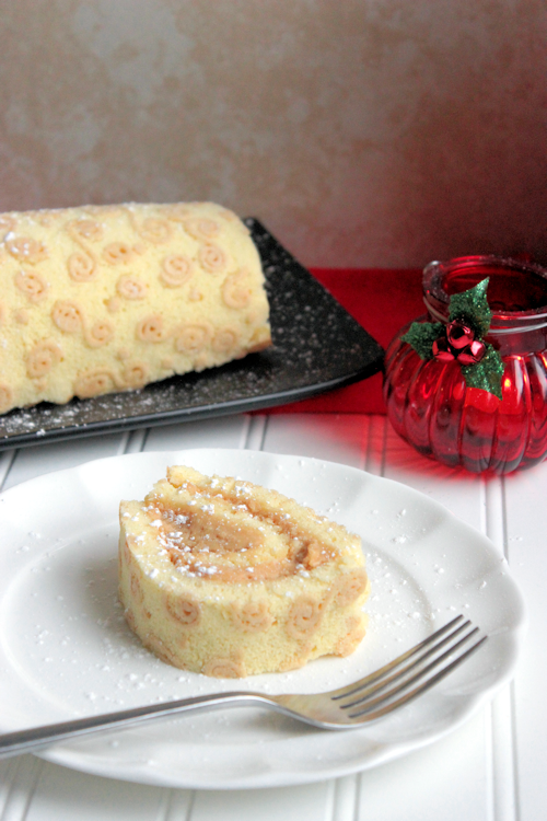 Peanut Butter Roll Cake --- A Little Help for the Holidays from Kraft #KraftHolidaySavings
