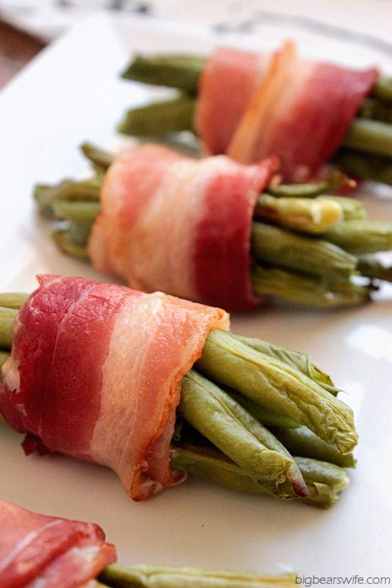 Bacon Wrapped Green Beans | BigBearswife.com @bigbearswife.com #recipe
