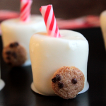 """""""Milk and Cookie"""" Chocolate Covered Marshmallows"""