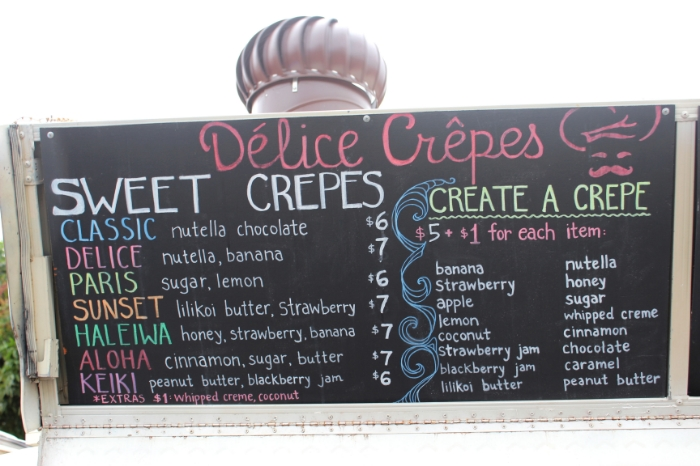 Délice Crêpes - North Shore - Haleiwa, Hawaii | BigBearsWife.com