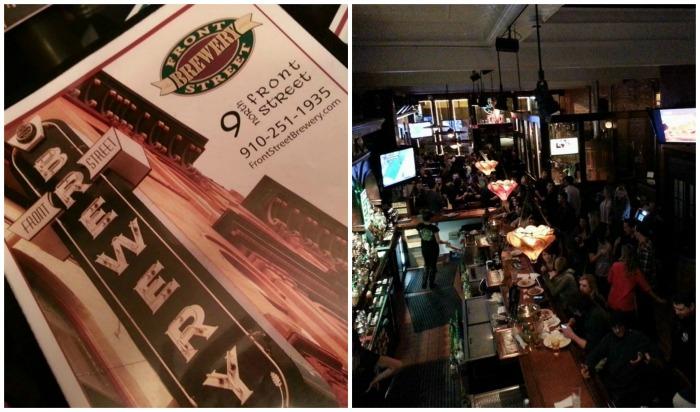 Front Street Brewery  - Wilmington, NC - | BigBearsWife.com #travel #Wilmington #CarolinaBeach