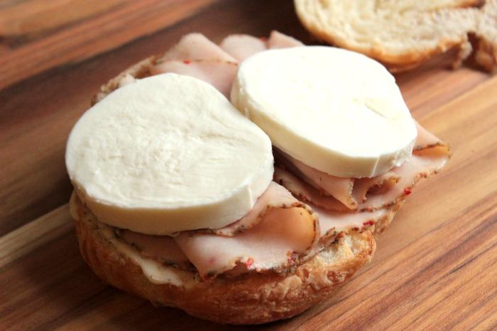 Turkey Caprese Croissant | BigBearsWife.com