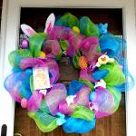 Easter Deco Mesh Wreaths