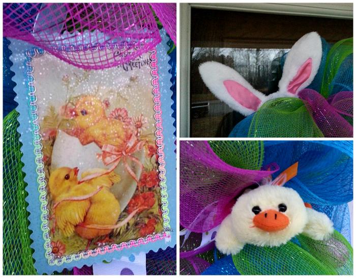 Easter Deco Mesh Wreaths | BigBearsWife.com