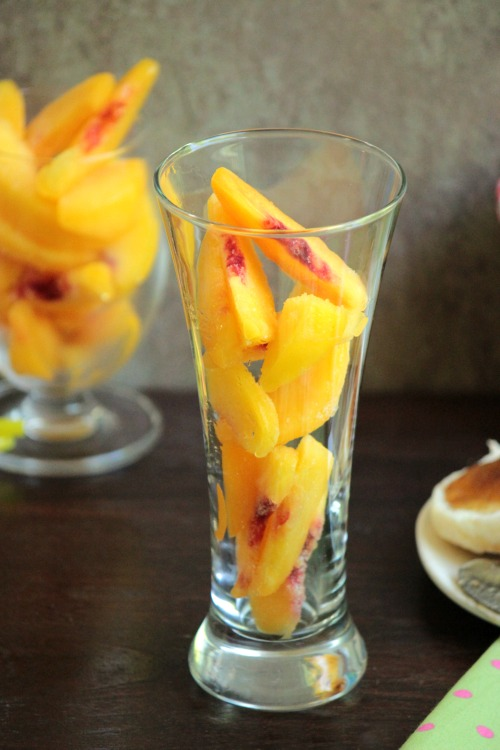 Pineapple Peach Mimosa   BigBearsWife.com #BrunchWeek
