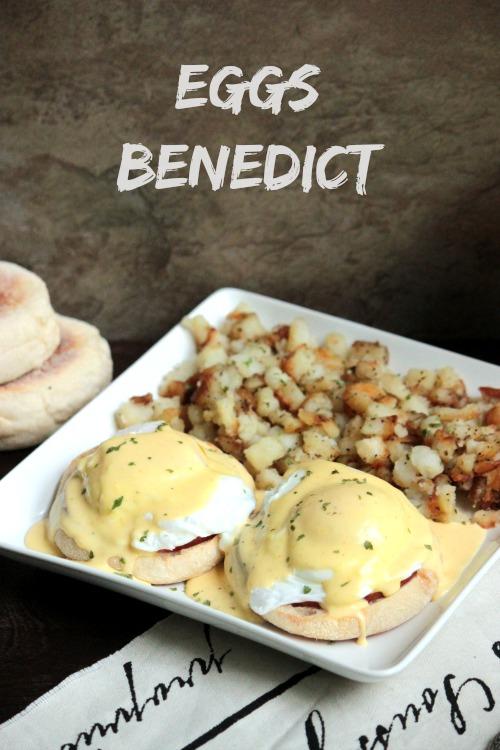 Eggs Benedict #BrunchWeek | BigBearsWife.com