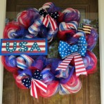 4th of July Deco Mesh Wreath Tutorial / Memorial Day Deco Mesh Wreath Tutorial