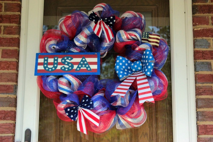 4th Of July Deco Mesh Wreath Tutorial Memorial Day Deco