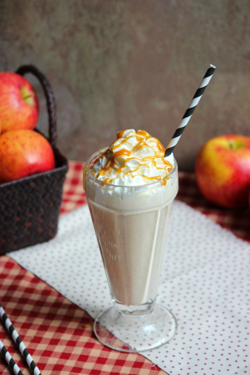 Apple Pie Milkshake #loveNZfruit