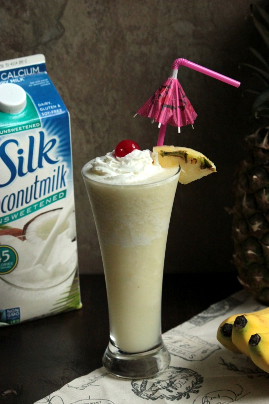 Tropical Coconut Daiquiri #silkcoconutmilk @LoveMySilk