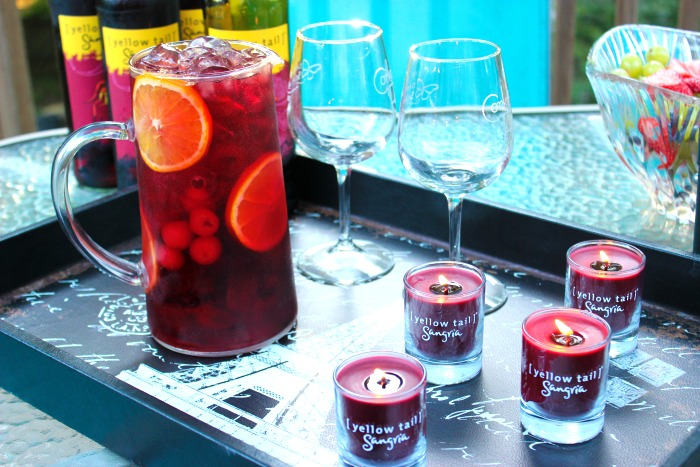 Sangria Girls Night — Relaxation, Nails, Laughter and Sangria  #YellowTailSangria